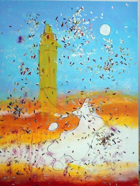 תמונה מתוך תערוכת סיפורי אהבה בבאר-שבע