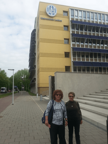 The Shachaf Group's visit to Leiden University, Holland