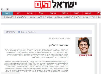 Wealth and Poverty by the Tongue - Israel Hayom On-Line